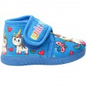 ZAPATILLA BOTITA UNICORNIO Luna Collection 30-831 AZUL