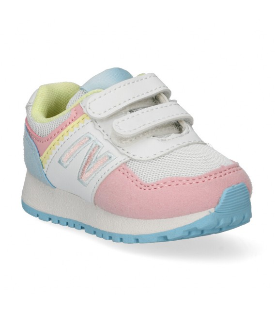 DEPORTIVA VELCRO Luna Collection K33 ROSA