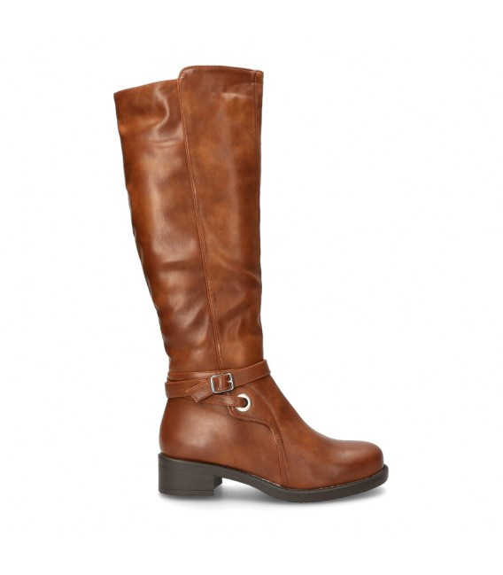 BOTIN ALTA CORREA Luna Collection Y279 CAMEL