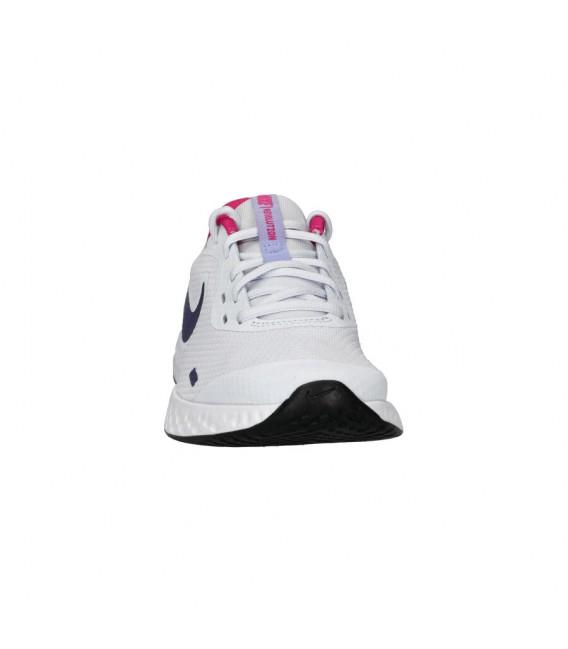 DEPORTIVO RUNNING Nike REVOLUTION 5BQ5673 19.5/27, BQ5672 28/35, BQ5671 36.5/40 BQ5671 GRIS