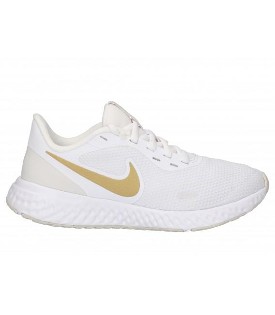 DEPORTIVO RUNNING Nike REVOLUTION 5 BQ3207 BLANCO