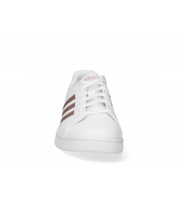 DEPORTIVA CASUAL Adidas GRAND COURT K EF0101 BLANCO