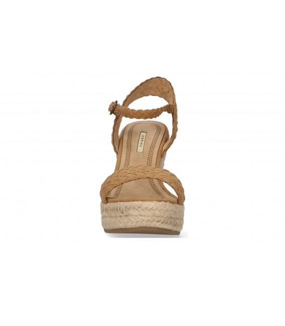 SANDALIA TRENZA Luna Collection A2213 CAMEL