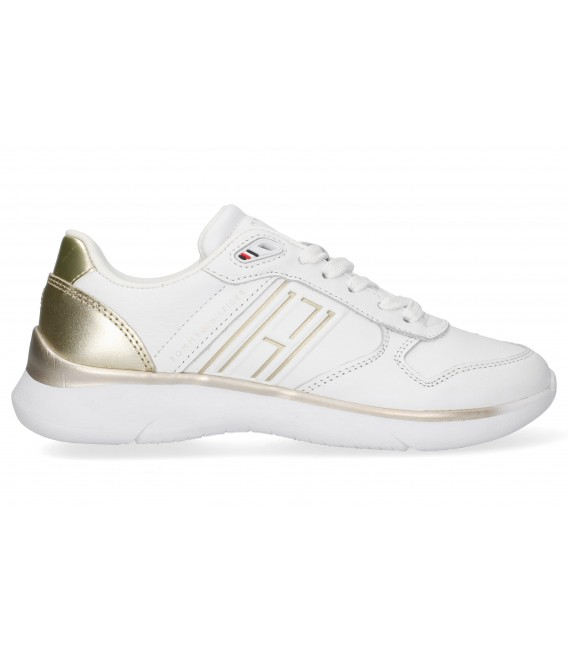DEPORTIVA CASUAL TOMMY HILFIGER FW0FW06016 ORO