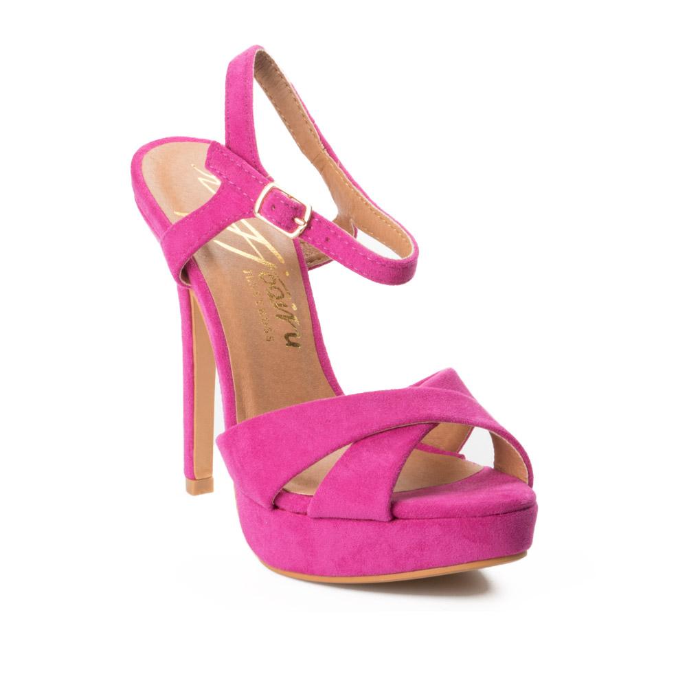 b1c08246 Zapato sandalia de fiesta fuxia de mujer cómodo y barato en Murcia