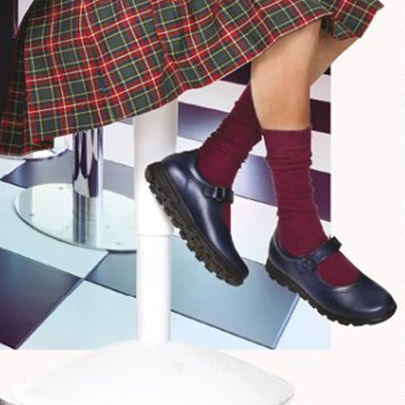 Zapatos colegiales para niños